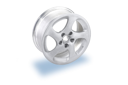 Laser beam welded lightweight wheel